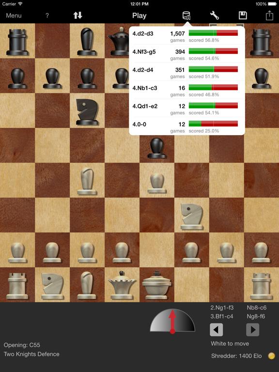Shredder Chess for iPadのおすすめ画像3