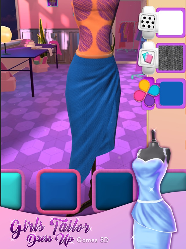 Girls Tailor Dress Up 3d Fun Games For Girls On The App Store