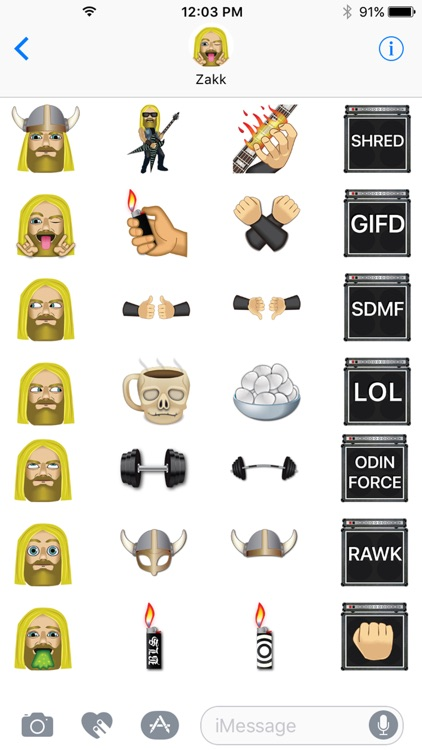 Zakk Wylde by Emoji Fame screenshot-1