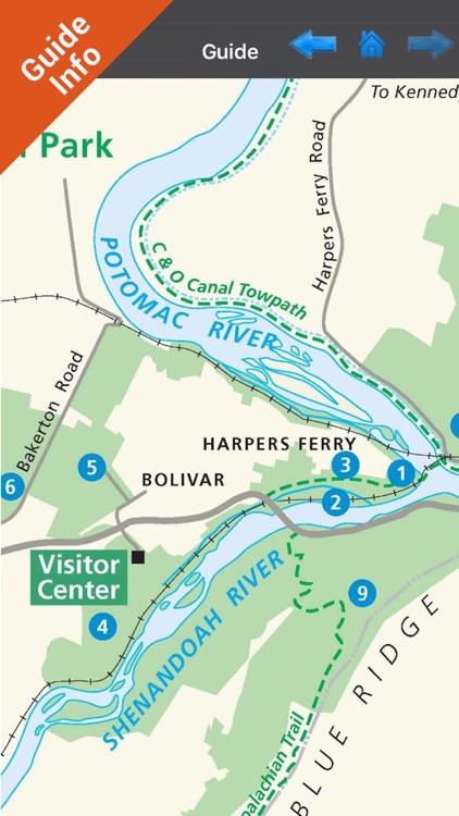 Harpers Ferry National Park - GPS Map Navigator screenshot-4