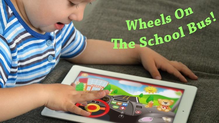 Baby School Bus - Drive Pretend Play Babies Games screenshot-3