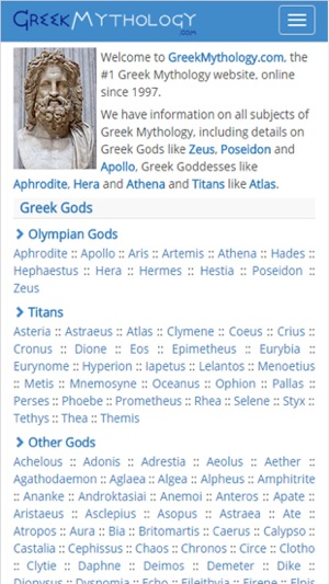 Greek Mythology Gods Myths On The App Store