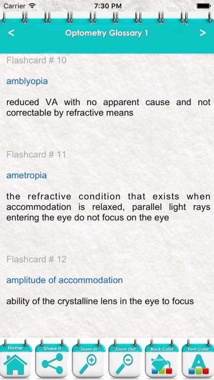 Optometry Course & Exam Prep 9200 Flashcards Quiz screenshot-3