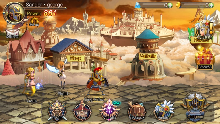 Arthur's Adventures-Road of Glory:Pocket Edition screenshot-4