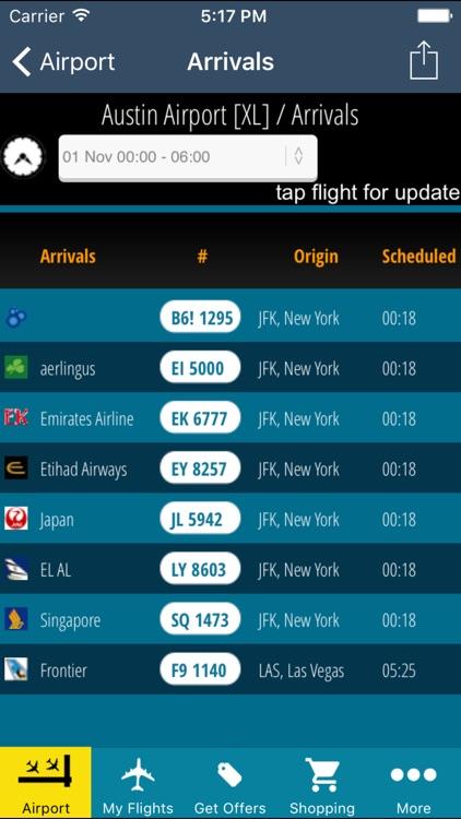 Austin Airport Pro (AUS) + Flight Tracker