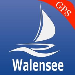 Walen lakes GPS nautical charts