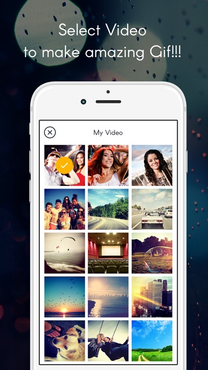 GIF maker with video to GIF and photos to GIF Animated gif maker