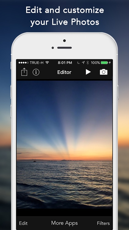 Live Editor - Edit your Live Photos screenshot-0