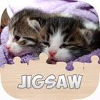 プッシーキャットジグソーパズル子供のための無料キティゲーム icon