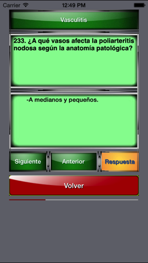 Reumatologia en preguntas cortas on the App Store