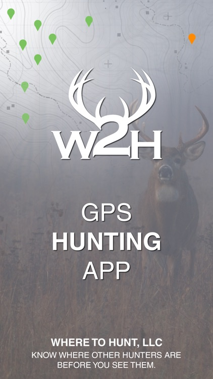 Where2Hunt - GPS Hunting App to see Hunters