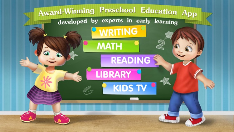 Kindergarten math & reading learning kids games