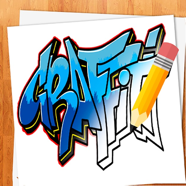 how to draw graffitis app store da. Black Bedroom Furniture Sets. Home Design Ideas