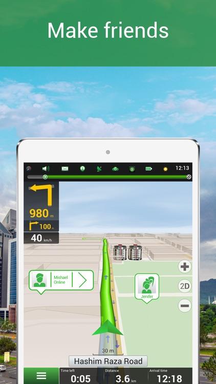 Navitel Navigator Pakistan GPS & Map screenshot-3