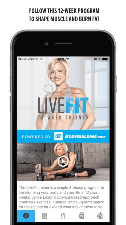 LiveFit with Jamie Eason screenshot-0