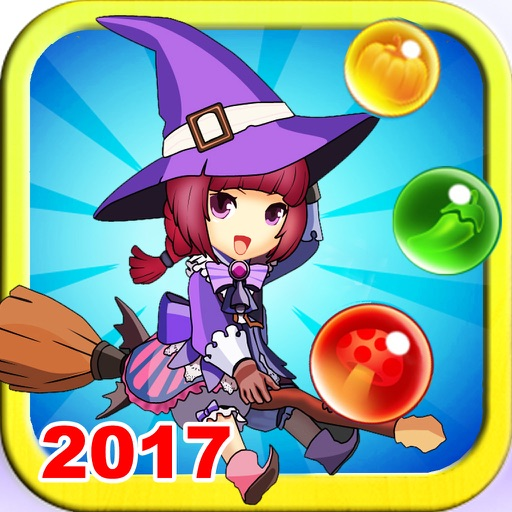 Witch Bubble Shooter Christmas Mania 3