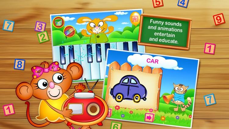123 Kids Fun GAMES - Preschool Math&Alphabet Games screenshot-3