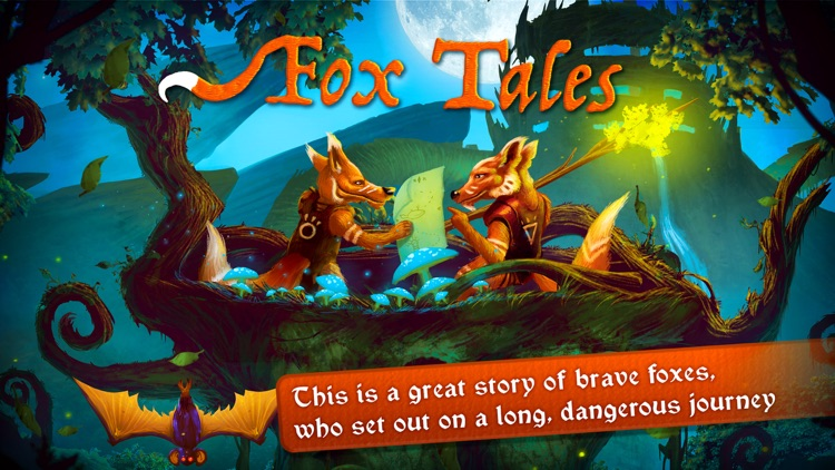 Fox Tales - Story Book for Kids screenshot-0