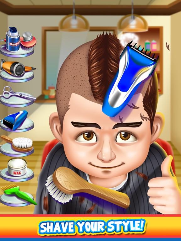 Screenshots of Kids Shave Salon Spa Games (Boys & Girls) for iPad
