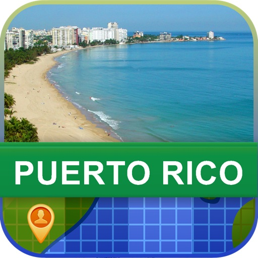 Offline Puerto Rico Map - World Offline Maps