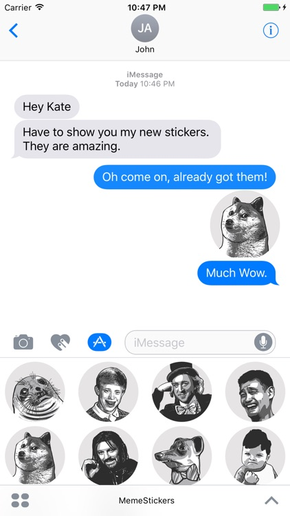 Funny Meme Stickers