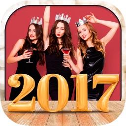 Happy New Year Photo Frames Album & Collage 2017