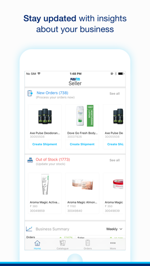 Paytm Mall Seller on the App Store