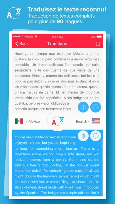 Screenshot #2 pour Scanner et Traducteur – traduction de la photo