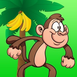 Monkey Adventure - Run Collect Banana Lunch