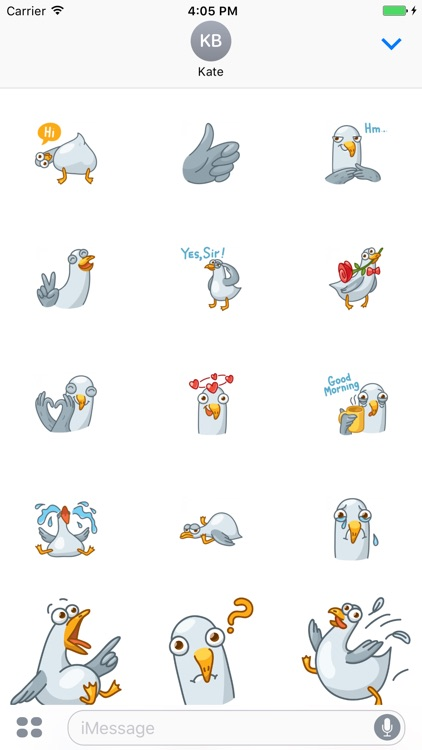 Gull! Stickers