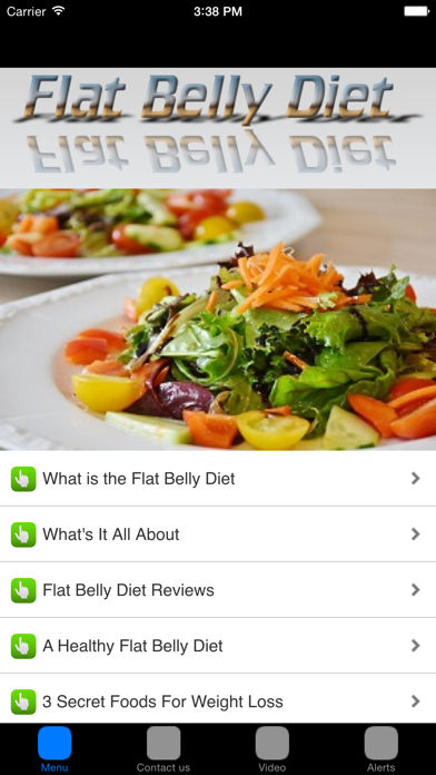 Flat Belly Diet & Fat Burning Foods For Flat Tummy screenshot one