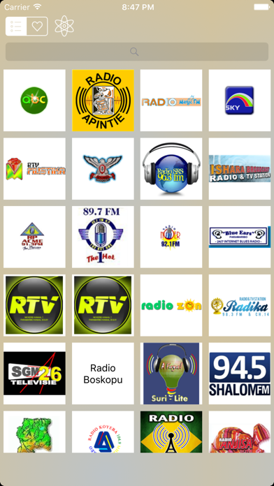 Radio Suriname (Dutch / Paramaribo) screenshot three