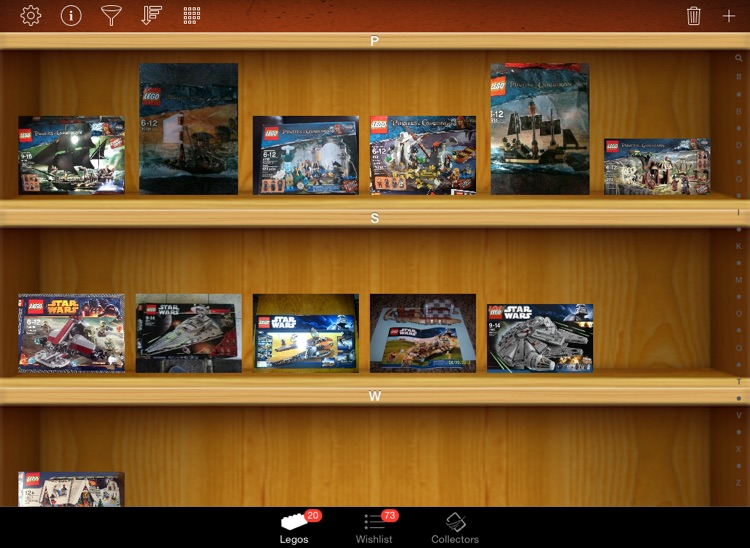 LEGO Collectors for iPad screenshot-0