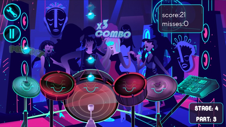 Electronic Drums Game screenshot-3