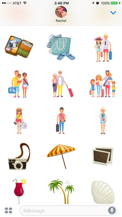 Vacation Stickers screenshot-3
