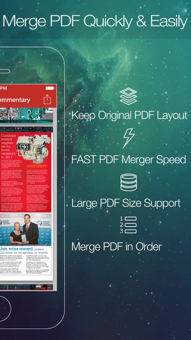 Pdf Merger review screenshots