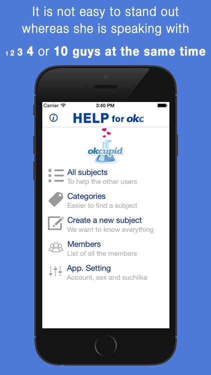 Help for OkCupid screenshot-1