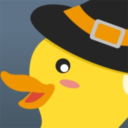 Rubber Ducky Stickers: Halloween Theme