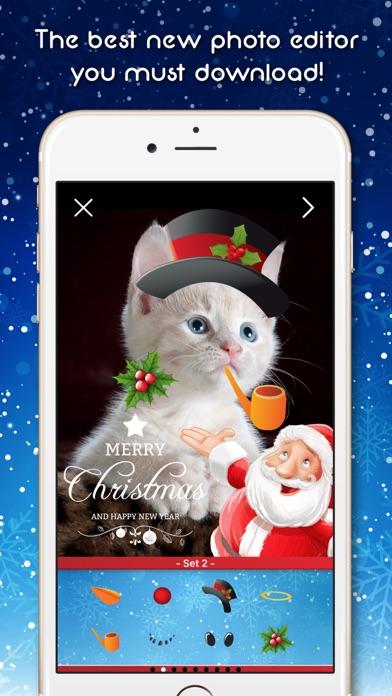 Santa Claus Photo Booth: Holiday Selfie Decorator