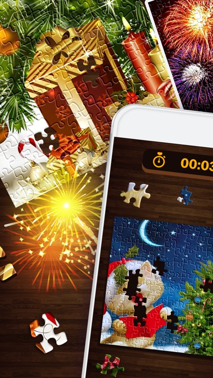 new year puzzle free christmas jigsaw puzzles hd