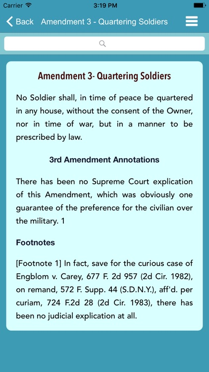 US Constitution - Reference Guide screenshot-3