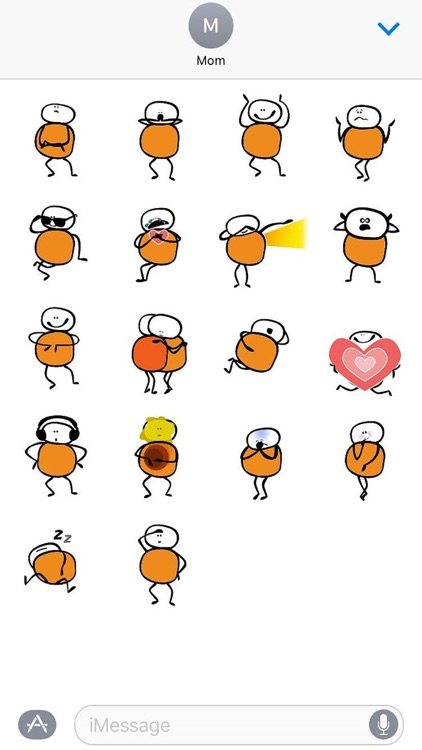Chumpu Stickers screenshot-3