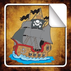 Activities of Pirate Sticker Book!
