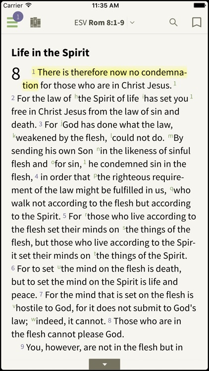 ESV Study Bible by Olive Tree screenshot-0