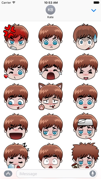 Kawaiimoji Sticker Pack