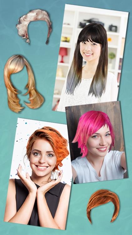 Hairstyles & haircuts - Makeover photo editor screenshot-4