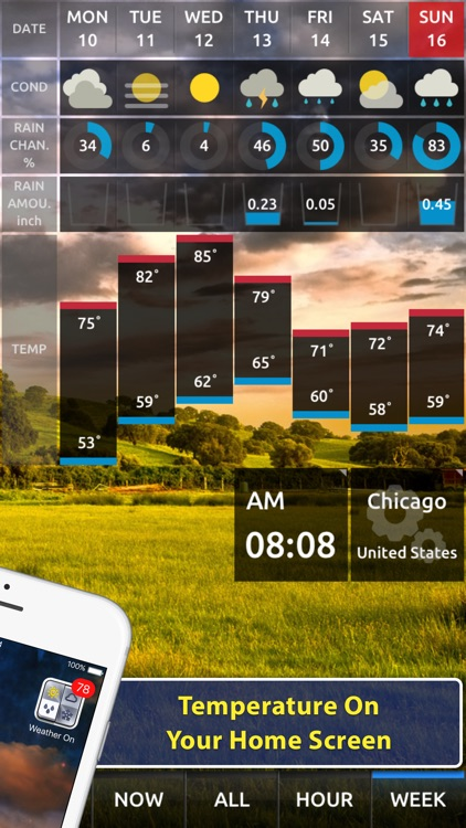 Weather On - Push Notification
