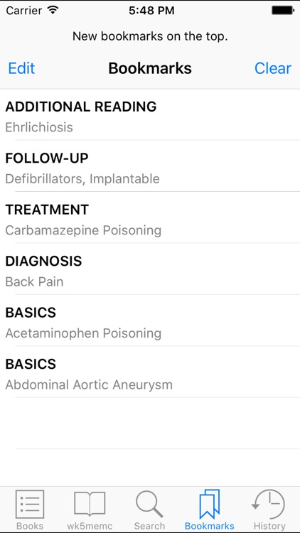 Rosen &Barkin's 5-Minute Emergency Medicine Consult Standard Edition, 5th Edition screenshot-4