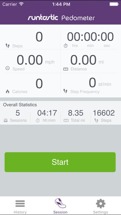 Pedometer Step Counter PRO by Runtastic screenshot-3