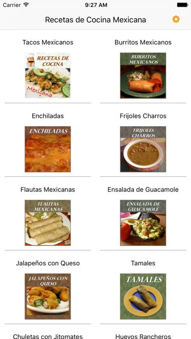 Recetas De Cocina Mexicana review screenshots